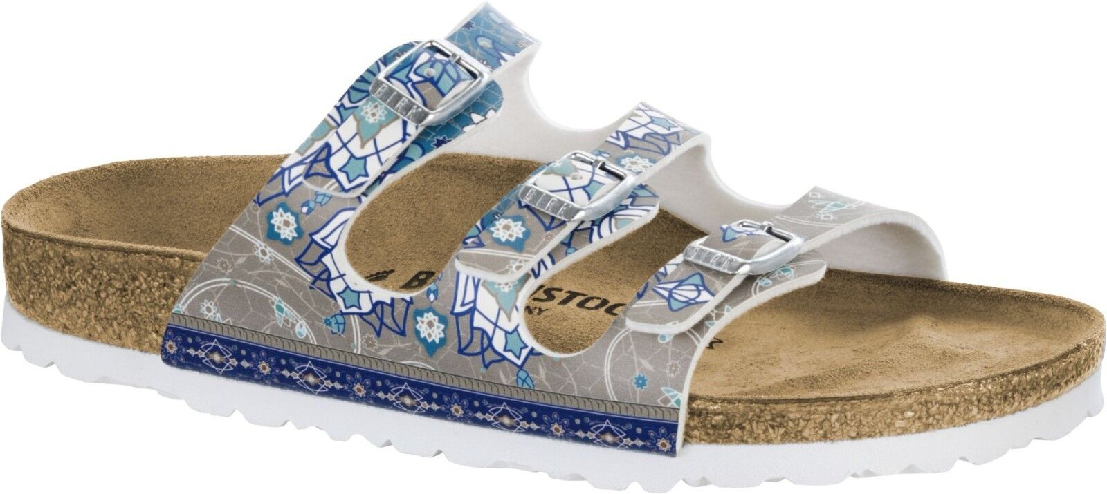 Birkenstock Florida Ancient schmal Mosaic Taupe Sandale 35-42 Fußbett schmal Ancient & normal 6d2fdc