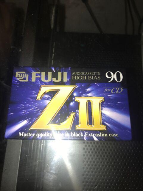 FUJI ZII 90 Type II Blank Cassette Tape High Bias New Sealed