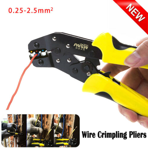 Professional Wire Crimpers Engineering Ratchet Terminal Wire Crimpling Pliers