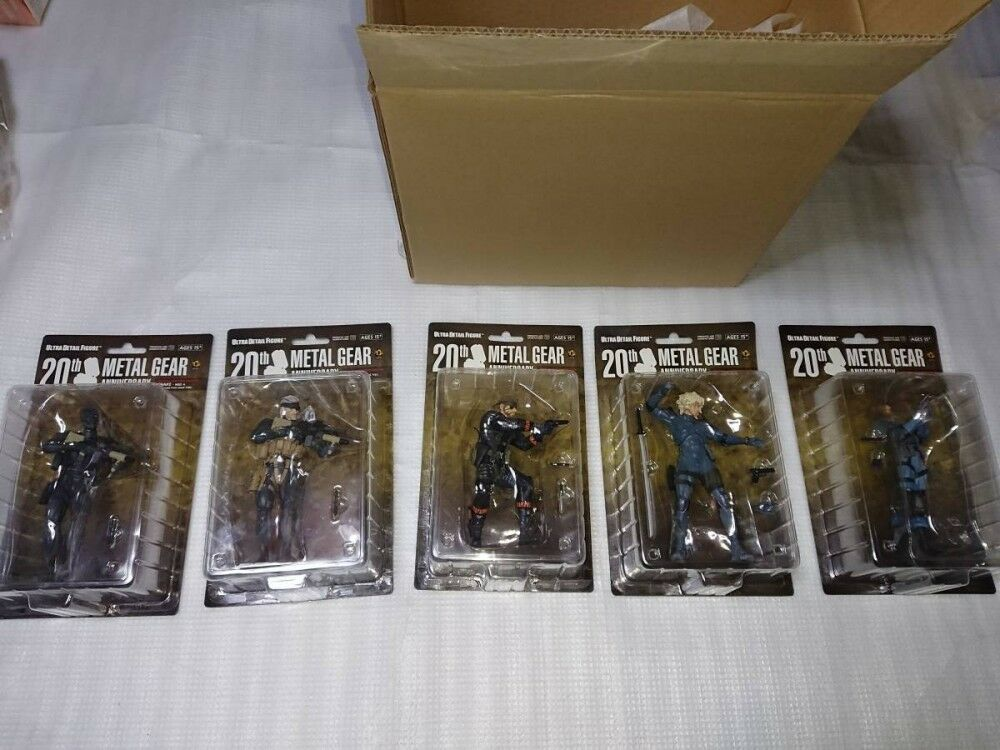 Medicom Ultra Detail Figure Metal Gear Solid Collection 5 Spec Set complete