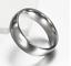 Fedine-Fidanzamento-Anelli-Anello-Fede-Acciaio-Inox-Argento-Solitario-Fascia-Lov miniatura 5