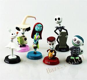 6pcs-Nightmare-Before-Christmas-Jack-Skellington-Action-Figure-Model-Toy-No-Box
