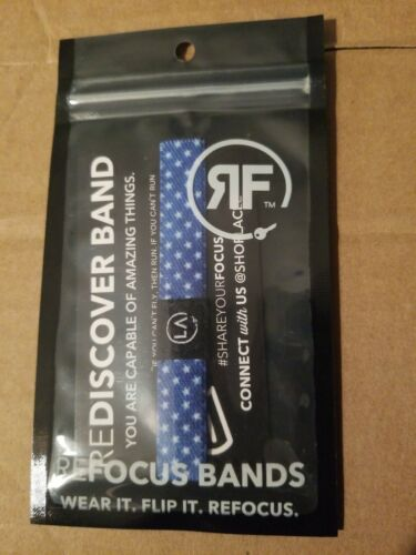 """Refocus./"""" Amazing things Details about  /Refocus Bands Rewire Band Flip It Red /""""Wear it"""