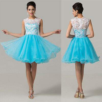 CHEAP short Evening Prom Bridesmaid Dress Homecoming Formal Ball Gowns Banquet
