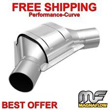 Magnaflow 49205 2.25 Inlet//Outlet Center//Center Rear Universal-Fit Catalytic Converter