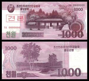 Korea-Banknote-Specimen-1000-Won-2008-UNC-1000-0