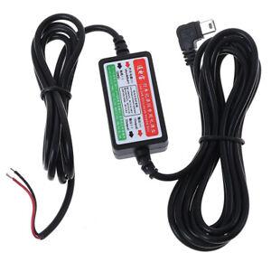 Car-dash-camera-cam-hard-wire-kit-mini-USB-for-car-camcorder-DVR-12V-24V-to-J-TW