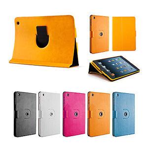 360-Drehbar-Case-iPad-mini-1-2-3-Schutz-Huelle-Cover-Etui-Staender-Tasche-Gelb