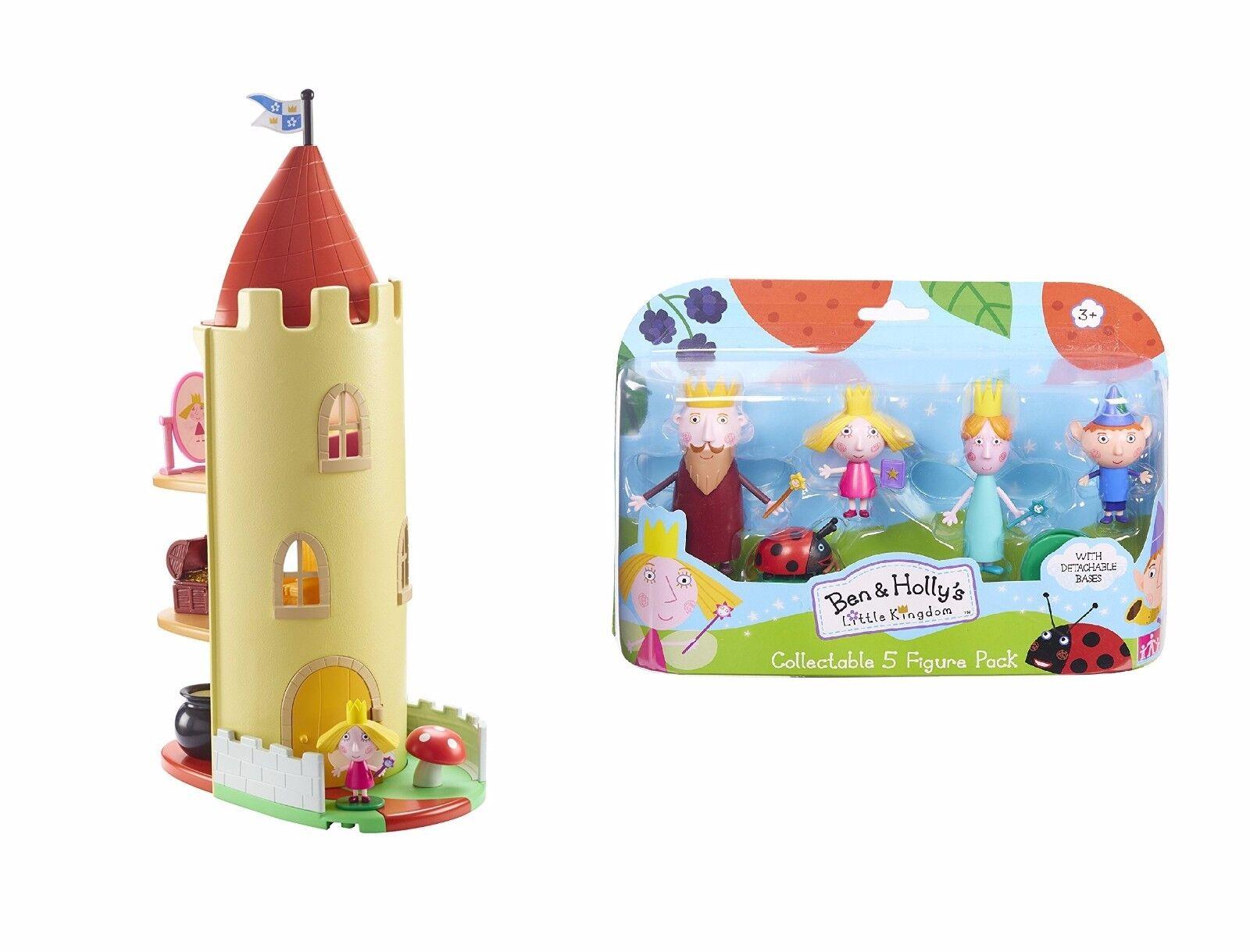 Ben und Holly's Little Kingdom Distel Schloss Tower & Figures Toy Spielset