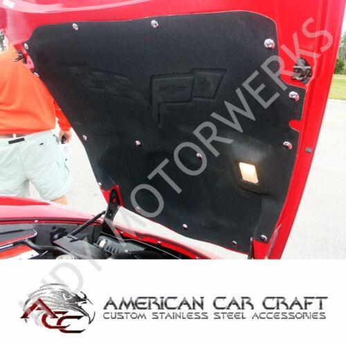 1997-2004 Corvette C5 Chrome Body Trim 40 Piece Screw Kit 642051