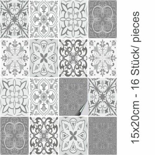 Fliesenfolie Set Patchwork No.4 FoLIESEN Fliesenaufkleber für Küche und Bad