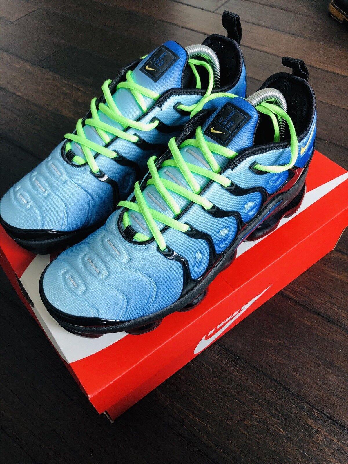 Nike Air MAX Vapormax Plus Plus Vapormax Obsidian Blue VM Max Authentic 7d3fe3