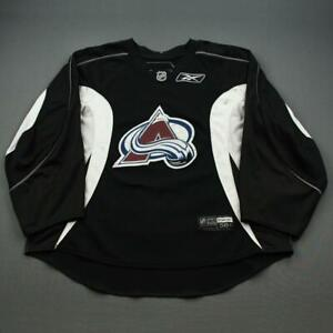 2008-09 Andrew Raycroft Colorado Avalanche Practice Used Worn NHL Hockey Jersey!
