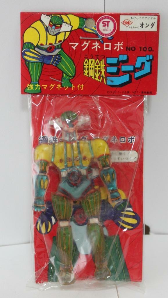 Vintage Koutetsu Jeeg Magnet Robot Japanese Figure MIP Onda Onda Onda wp 38ba99