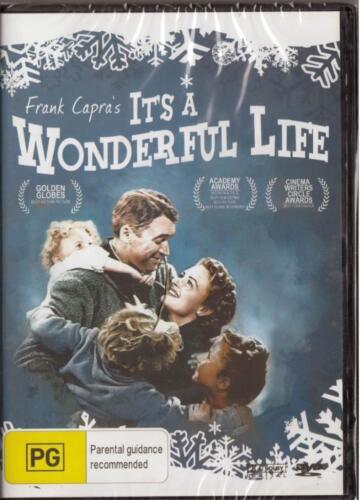 1 of 1 - IT'S A WONDERFUL LIFE - FRANK CAPRA - NEW & SEALED REGION 4 DVD FREE LOCAL POST