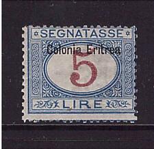 Italienisch Eritrea, Mi-Nr. P 10 I, Portomarke, ungebraucht, Porto (21421)