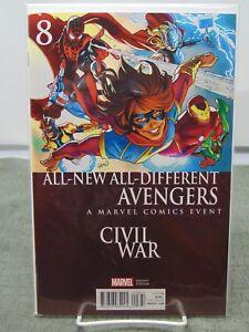 All-New-Avengers-8-Variant-Cover-Civil-War-Marvel-Comics-vf-nm-CB1780
