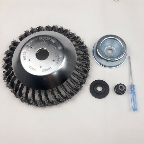 8/'/' 200mm Grass Trimmer Head Steel Wire Weed Brush Cutter for Lawn Mower Weeding
