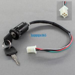 Universal 6 Pin Zündschloss passend für viele verschiedene Motorrad und Quad