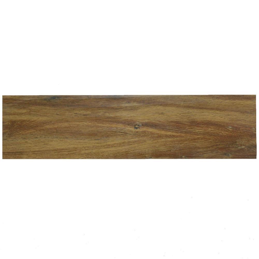 Ersatzfliese Boden SKP E1815 25018 Casa Legno castanio rot braun 22,5 x 90 cm