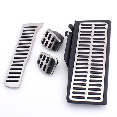 Fuel Brake Pads Sports Foot Rest 4PCS MT Pedals for Volkswagen Passat B7 CC