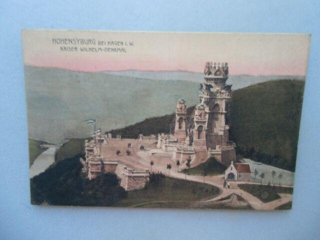 Ansichtskarte Hohensyburg bei Hagen i. W. Kaiser Wilhelm-Denkmal 1910