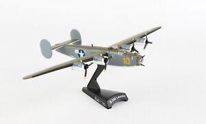 POSTAGE-STAMP-USAAF-B-24D-PB4Y-SUB-HUNTER-1-163-SCALE-DIECAST-METAL-MODEL