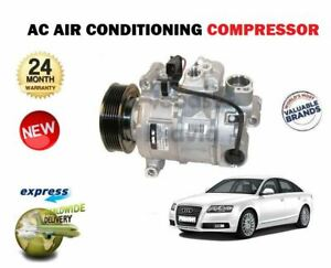 Details about FOR AUDI A6 2 0 2 7 3 0 QUATTRO TDI 2004-2011 AC AIR  CONDITIONING COMPRESSOR