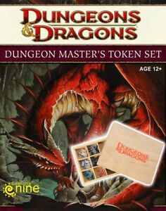 1x-Dungeon-Master-039-s-4E-4th-EditionToken-Set-New-Near-Mint-Products-D-amp-D-4E-4-0