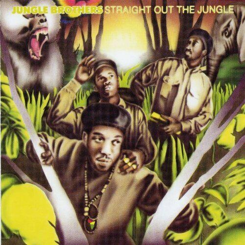 Jungle Brothers – Straight Out The Jungle / Gee Street Records CD 1988  Neu