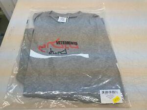 Vetements Big Cocaine T-Shirt - Grey - L