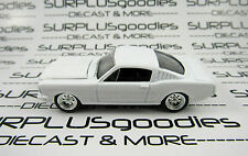 Johnny Lightning 1/64 Scale LOOSE Blank White 1965 FORD MUSTANG 2+2 Fastback 935