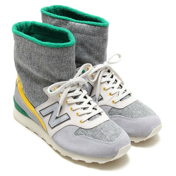 New Balance Womens 996 Mid Retro Sneaker Boot Shoe WH996BXW Japan Rare Size 5.5