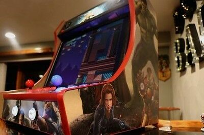 Mdf Bartop Arcade Cabinet T Molding Cuts Included Do It
