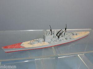 Tri-ang-Hornby-Minic-Ships-Model-No-m741-HMS-039-Vanguard-039-Battleship