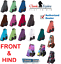 Classic-Equine-Legacy-FRONT-HIND-LEG-Boots-System-Plain-Sport-SMB-Horse-Tack thumbnail 1