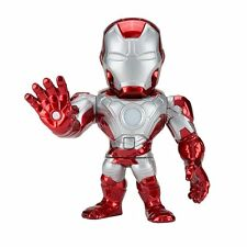 """Loot Crate DX Exclusive 6"""" Light Up Iron Man Mark V Die-cast Figure Marvel POWER"""