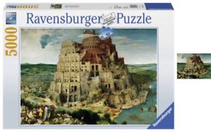The Tower of Babel 5000 Piece Puzzle