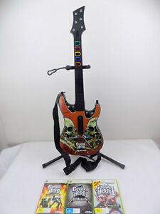 NEW XBOX 360 Guitar Hero Live Wireless GUITAR CONTROLLER ...  Guitar Hero Guitar Wireless Xbox 360