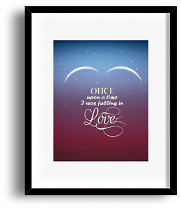 Details About Song Lyric Music Quote Print Art Total Eclipse Of The Heart By Bonnie Tyler