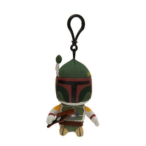 "Underground Toys Boba Fett talking Film phrases Star Wars 4/"" Jouet Doux en Peluche"
