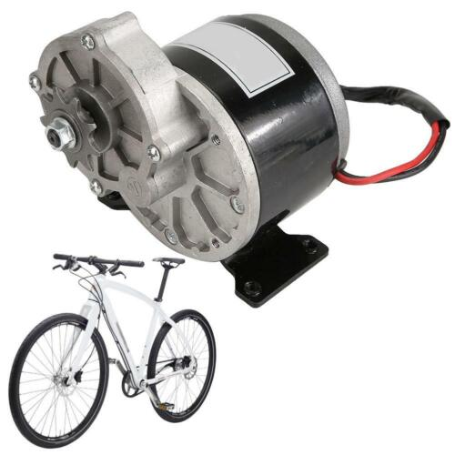 12V 250W E-Bike Gear riduzione ELETTRICO MOTORE CC CON 9 DENTI RUOTA DENTATA spazzolato
