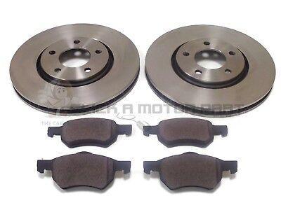 03|01-04|04 Front Brake Discs /& Pads 15 inch wheels Chrysler Voyager 3.3 RG