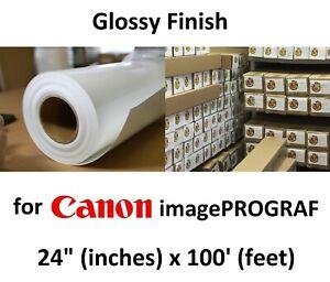 "PROFESSIONAL 24/"" x 100/' Pearl Inkjet Photo Paper"