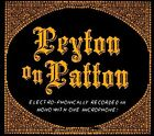 Peyton on Patton by The Reverend Peyton's Big Damn Band (CD, Jul-2011, Side One Dummy)