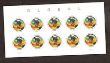2014 #4893 Global Forever Sea Surface Temperatures Pane of 10 Without Die Cuts