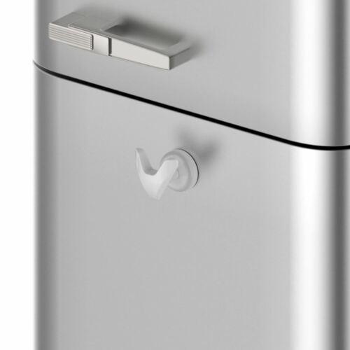 """BIANCO Heavy Duty magnetico /""""VIP/"""" Designer ROBE APPENDIABITO gancio per radiatore"""