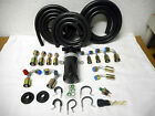A/C HOSE KIT,GENERAL USE,W/135 DEGREE O RING FITTINGS/BINARY SWITCH HOT/RAT ROD
