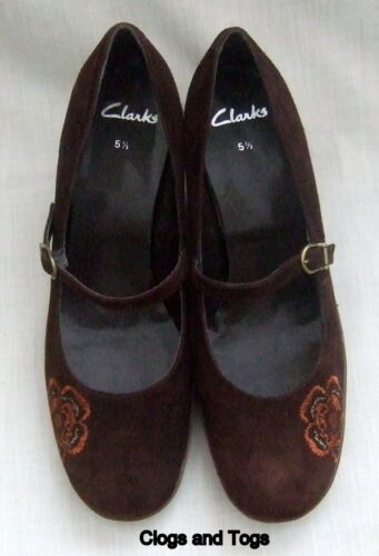 Womens Gibson talla Brown Nuevo Suede Clarks Shoes Wedge 5 39 5 S050wRxEq