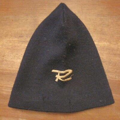 Italian cap cape R lana sci Cuffia elastica logo vintage ski berretto Rossignol wfA4Uc7q